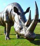 Safari Animal Sculptures