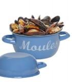 Enamel Mussel Pots