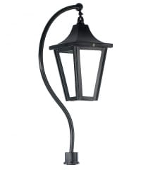 Lincoln Swan Neck Lamppost Sets