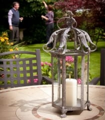 Outdoor Candle Lanterns & Holders