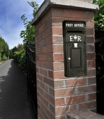 Built in Post Boxes