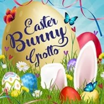 Easter Bunny Grotto